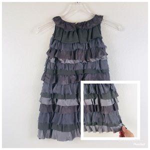 Crewcuts Silk & Cotton Ruffle Layered Dress